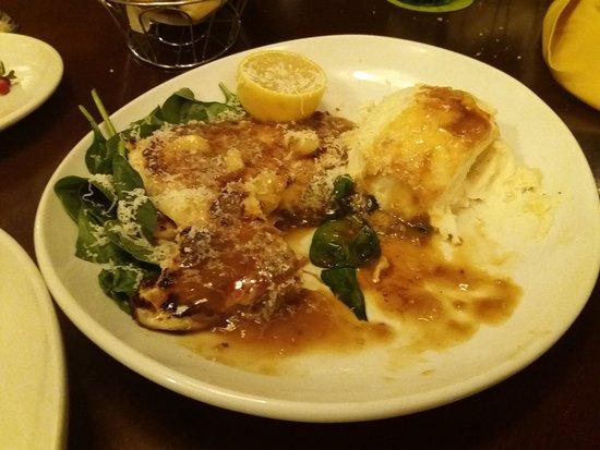 Tilapia Picatta Dish Picture Of Olive Garden Fairfield