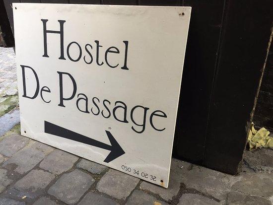 Hotel Passage: Hostel Signage