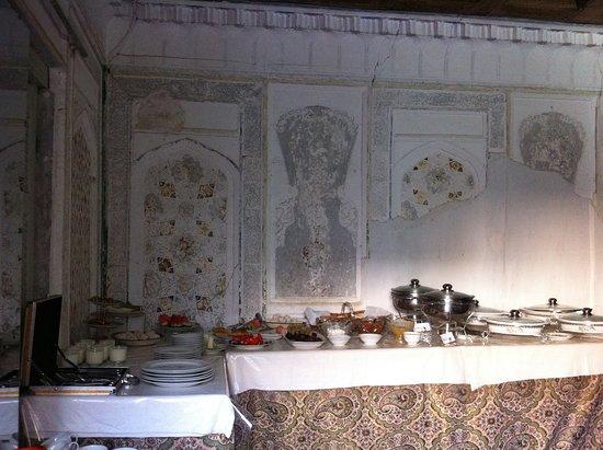 K. Komil Bukhara Boutique Hotel: delicioso pequeno almoço