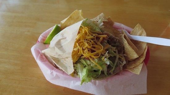 Tropical Taco : Pancake taco??