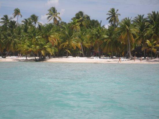 Провинция Ла-Романа, Доминикана: Vista desde el catamarán
