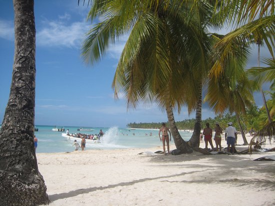 Провинция Ла-Романа, Доминикана: Vista desde la isla