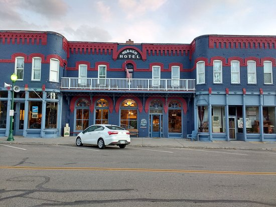 Meeker, CO: Downtown on Main St.