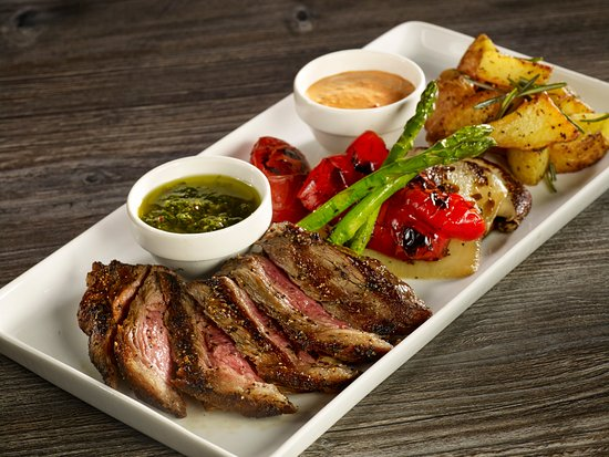 Image result for steak on plate