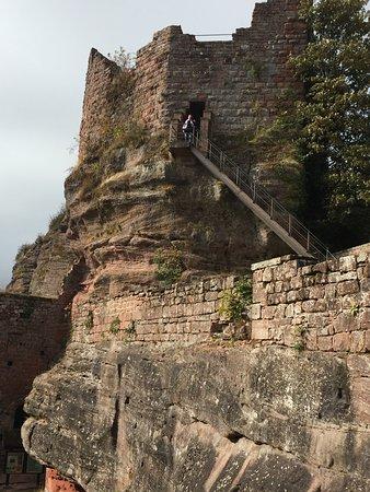 Saverne, Frankrijk: лестница на башню