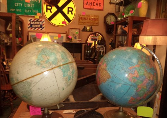 Roseville, CA: Globes and more!