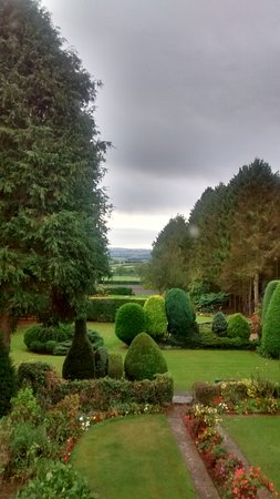 Easthill Farm House: View from Living Room over Vale of Pickering to Yorkshire Wolds