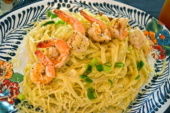Shrimp & Stuff Downtown: Shrimp Linguine