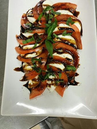 Gresham, OR: all Me Caprese with house-made Balsamic Reduction