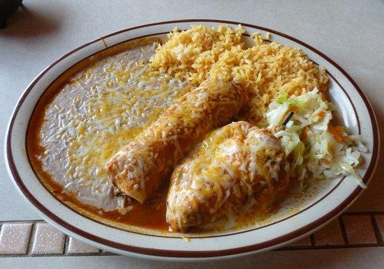 Davenport, WA: Enchilada/Relleno Combo...