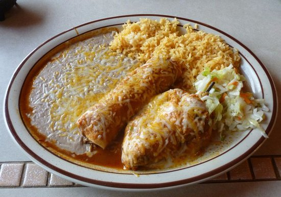 Davenport, واشنطن: Enchilada/Relleno Combo...