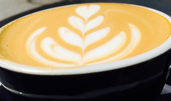 Cafe Madeleine: latte art