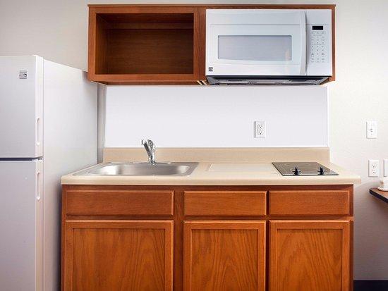 Darien, Ιλινόις: In-Room Kitchen