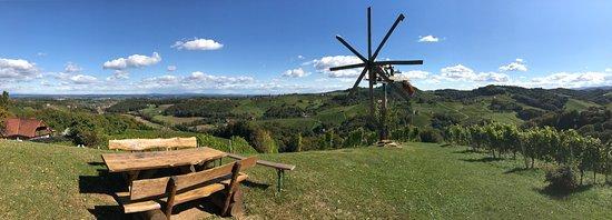 Gamlitz, Austria: Buschenschank Adam-Schererkogl