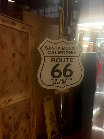 Barstow, CA: Route 66 sign