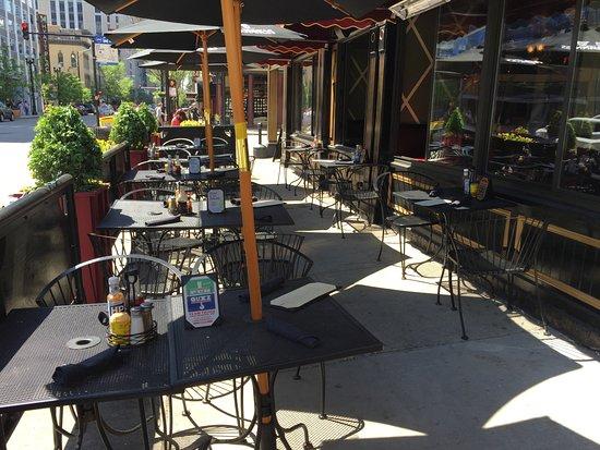 patio seating picture of fado irish pub chicago tripadvisor