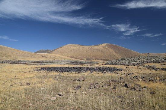 Syunik Province, Armenia: landscape neat the top