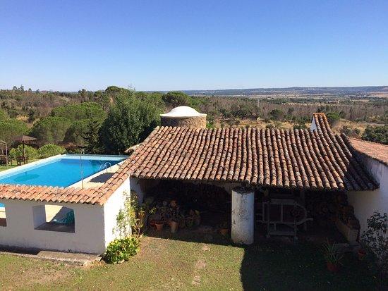 Constancia, Portugal: Piscina e Vista