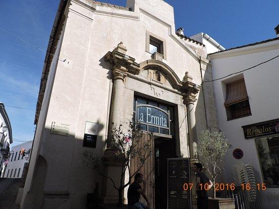 Jerez de los Caballeros, Espagne : Fachada del restaurante