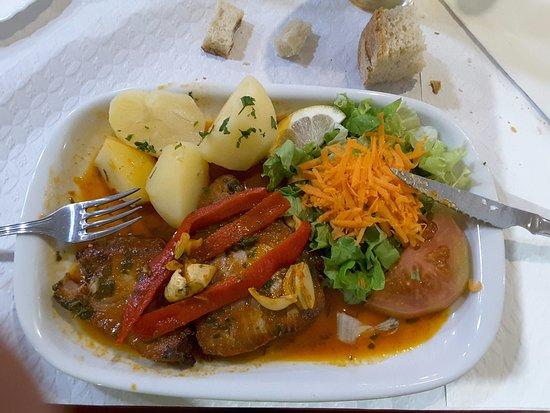 Lagoa, Πορτογαλία: Bife de atum