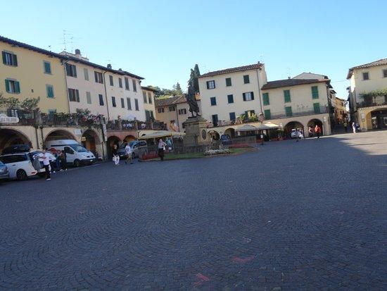 Greve in Chianti, إيطاليا: Plaza