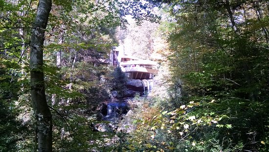 Mill Run, PA: Fallingwater House by Frank Lloyd Wright