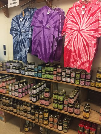 Harpster, OH: jellies, jams, and tie dye