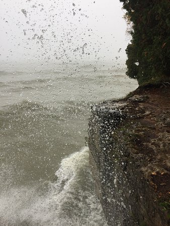 Sturgeon Bay, WI: Don't let the spray get you!