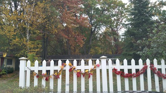 Interlochen, MI: Cute fall decor