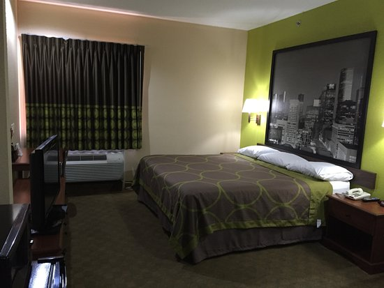 Humble, TX: King Bed Room