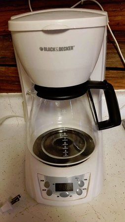 Dubois, WY: sparkling clean coffee pots fpr warm fall beverages!!!