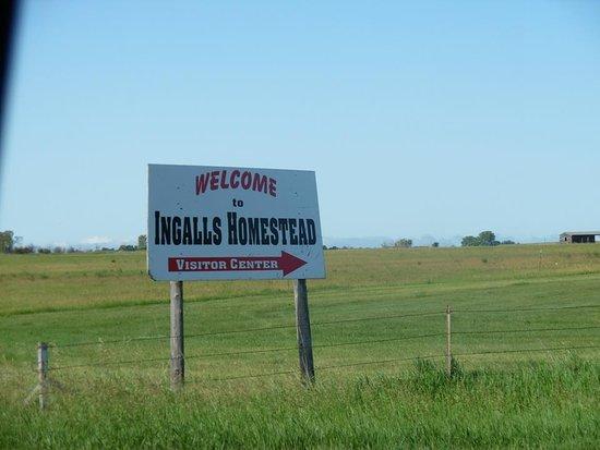 De Smet, Dakota du Sud : The entrance to the Homestead