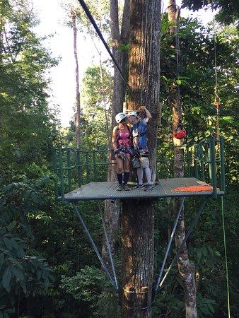 Osa Peninsula, Costa Rica: Zip-line fun