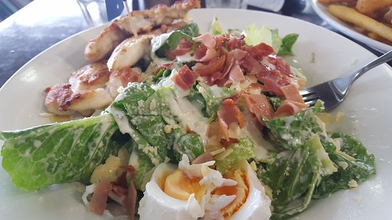 Miami, Australia: Chicken Caesar Salad
