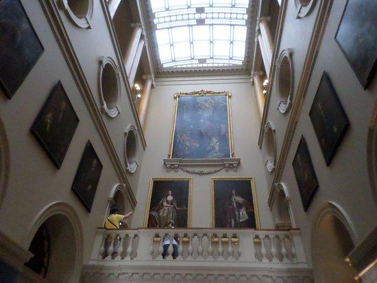 Horringer, UK: The hall in the rotunda