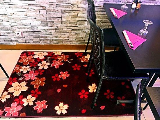 bleu sakura le tapis sakura - Tapis Paris