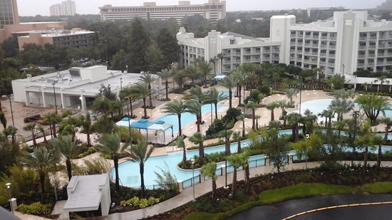 Hilton Orlando Buena Vista Palace Disney Springs : Pool and lazy river