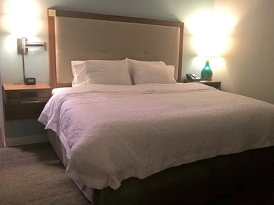 North Huntingdon, PA: The bed was also at a right angle to the television