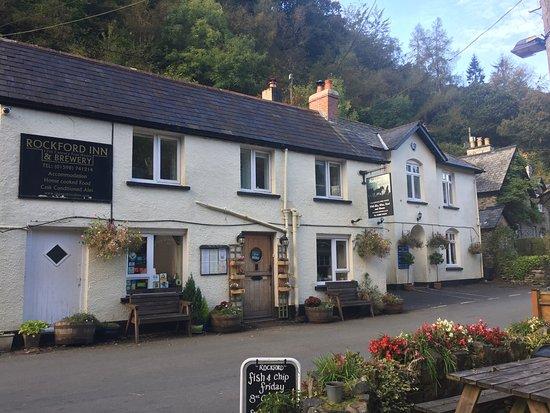 Brendon, UK: The Rockford Inn