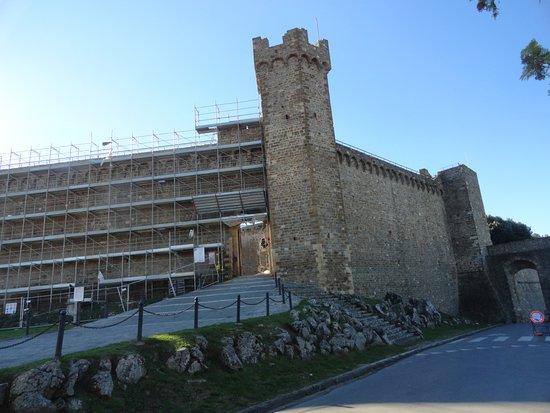 Montalcino, Italia: Fortaleza