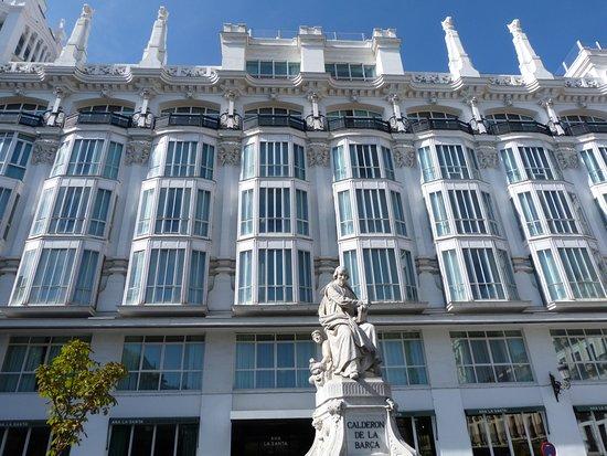 Pedro Calderón de la Barca Statue