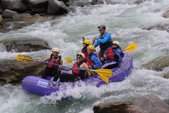 Gallatin Gateway, MT: Montana Whitewater Raft Company