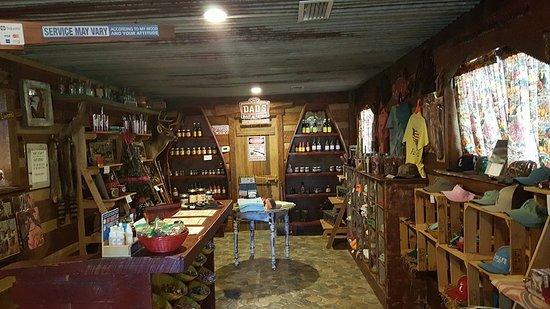 Jesup, Geórgia: Small store.