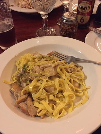 North Miami, FL: Pasta with Fungi Porccini