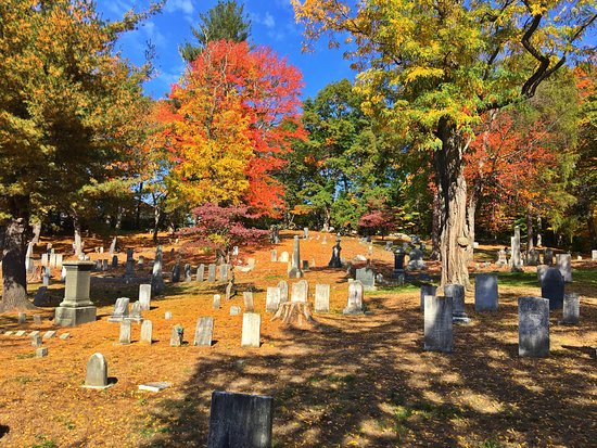 Concord, MA: October graces descend on Sleepy Hollow.