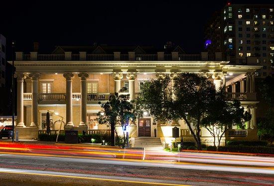 Hotel Ella at night
