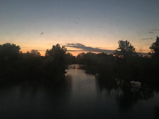 Grand Island, NE: Before sunrise on the lake
