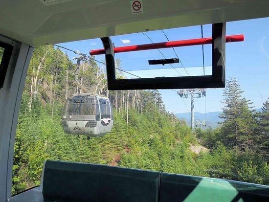 Wilmington, NY: Riding the Gondola back down - stunning views