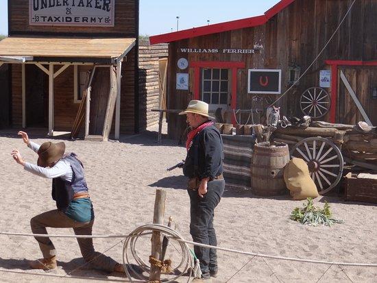 Chandler, AZ: The wild wild west