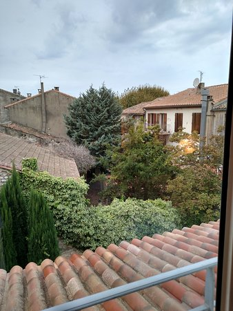 Hotel de l'Image : View out of our room.